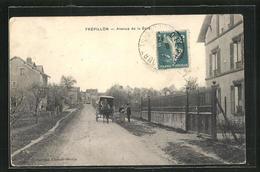CPA Frepillon, Avenue De La Gare - France