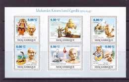 MOZAMBIQUE 2009 GANDHI  YVERT N°2764/69  NEUF MNH** - Mahatma Gandhi