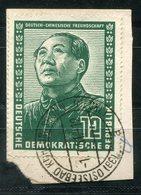 5935 - DDR - Mi. 286 Mit Bedarfs-Stempel Auf Briefstück - DDR