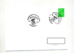 Lettre  Cachet Flixecourt Anniversaire Malot - Gedenkstempel