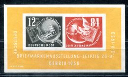 5936 - DDR - Block 7 Mit Falz - Mint But Hinged - Blocks & Kleinbögen