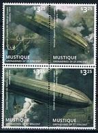 Timbres Stamps 1ere Guerre Mondiale  World War 1 Zeppelin  MNH  Neuf **  Mustique Grenadines & St Vincent 2014 - Guerre Mondiale (Première)