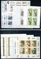5937 - DDR - Lot 56 Postfrische Kleinbögen Und Blöcke Aus Bl. 53-88 (Jahre 1978-1987) - Blocks & Kleinbögen