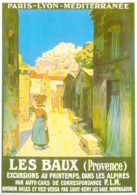 Repro Affiche PLM Les Baux De Provence Par Marco CPM Clouet 10174 - Publicité