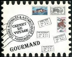 T.A.A.F. - CARNET DE VOYAGE GOURMAND - N° C372  DE 2003 AVEC N° 372 À 383 * * - LUXE - Carnets