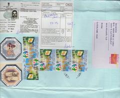 INDE, Affranchissement Composé Recommandé, Gandhi, Protection Des Consommateurs, Sur Lettre, 2020 - Mahatma Gandhi