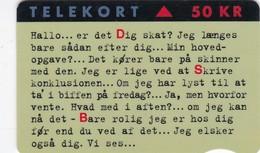 Denmark, KR 006, Dsb Intercity, Only 3.500 Issued. 2 Scans. - Danimarca