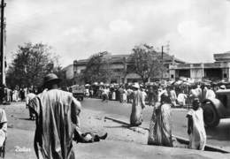 "7025 "" DAKAR ""ANIMATA-VEICOLI '40-CART. POST. ORIG. SPEDITA 1951 - Senegal"