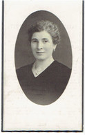 NUKERKE / ANTWERPEN - Marie Mathilde VANDEPUTTE (echtg. L. DE BOUVERIE) - Geboren 1893 En Overleden 1943 - Andachtsbilder