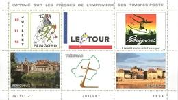 Bloc De Vignettes : Le Tour De France En Périgord 1994 : Périgueux - Trélissac - Bergerac - Sports