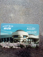 CANADA PREPAID QUEBEC BELL MUSEE DES CIVILISATIONS HULL 20$ UT - Canada