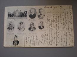 MONS - LA HAYE - C0NFERENCE DE LA PAIX 1899 - Mons