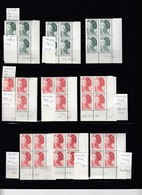 LIBERTE - SELECTION DE 89 COINS DATES  De 26 VALEURS Suivant Scan - 1980-1989