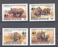 Centraficaine/ Zentral Afrikanische Republik  Michel #  985 - 88  **  WWF - Zentralafrik. Republik