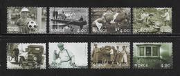 NORVEGE  ( EUNOR - 360 )   1999  N° YVERT ET TELLIER N° 1274/1281  N** - Unused Stamps