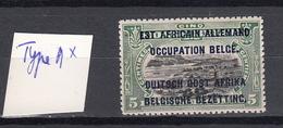 Ruanda - Urundi Ocb Nr :  28 Type A * MH  (zie  Scan) - 1916-22: Mint/hinged