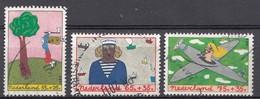 Pays-Bas 1987  Mi.nr: 1328-1330 Für Das Kindes   Oblitérés / Used / Gestempeld - Period 1980-... (Beatrix)
