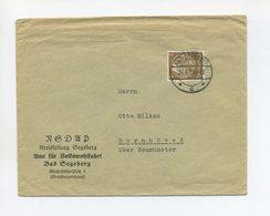 1938 3. Reich NSDAP Dienststellenbrief NSDAP Kreisleitung Bad Segeberg Volkswohlfahrt Mit 3 Pfg Hindenburg - Duitsland
