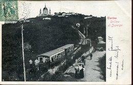 52655 ITALIA,cart. Torino Collina Di Superga, Viaggiata In Algeria 1904 - Churches