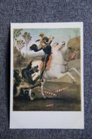 Art, Peinture, SANTI Raffaello Dit Raphael SANZIO : ST GEORGES (PARIS :  Musée Du LOUVRE ). - Pittura & Quadri