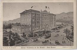 ITALIE -  CPA  - SAN REMO - Hôtel Victoria Et De Rome - San Remo