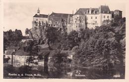 Raabs An Der Thaya * Schloss, Burg, Fluss, Ufer, Felsen * Österreich * AK970 - Raabs An Der Thaya