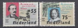 Pays-Bas 1987  Mi.nr: 1313-1314 Literatur   Oblitérés / Used / Gestempeld - Period 1980-... (Beatrix)