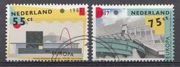 Pays-Bas 1987  Mi.nr: 1318-1319 Europa   Oblitérés / Used / Gestempeld - Period 1980-... (Beatrix)
