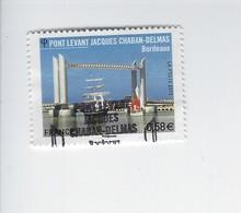 Série Touristique Pont Levant Jacques Chaban-Delmas 4734 Oblitéré 2013 - Francia