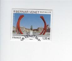 Série Artistique Personnalité Bernard Venet 4723 Oblitéré 2013 - Francia