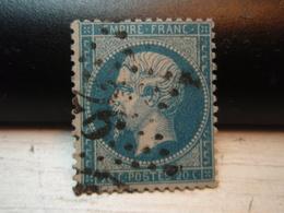 Timbre Napoléon III 20 C - EMPIRE FRANC  N° 22 Oblitéré. 26 - 1862 Napoleon III