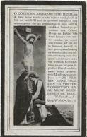 DP. JOANNES DE ROOS ° WEMMEL 1883- + 1929 - Religion & Esotérisme
