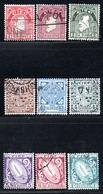 Irlande - N° 79,80,1,2,3,4,5,6,9 - 1941- 44 - 1937-1949 Éire