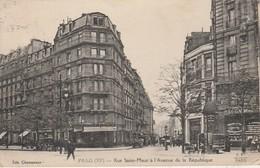 75011 - PARIS - Rue Saint Maur à L' Avenue De La République - Distretto: 11
