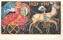 ENTIER POSTAL KONIGREICH BAYERN 5 PF VERT DIEZ 1910 MUNCHEN 1821-1911 OSCAR CONSEE - Germany