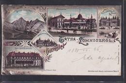 B44 /   Litho Tatra Lomniczi Lomnitz Lomnice 1899 - Pommern