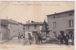 30 / AIGUES VIVES / PLACE DE LA FONTAINE - Aigues-Vives