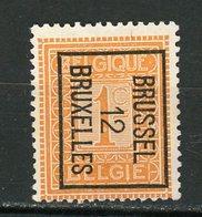 BELGIQUE  BRUSSEL / BRUXELLES 12 N° Yvert ? (*) - Precancels