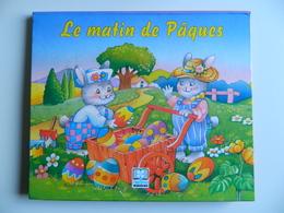 Livre à Système M. DUVAL - POP UP - Le Matin De Pâques - Lapins Humanisés - Edit. HEMMA - Illustrations MICHEL RAINAUD - Autres