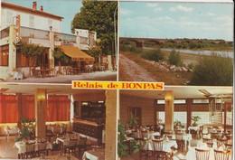 CPSM 84   CAUMONT MONTFAVET RELAIS DE BONPAS RN 7 - Caumont Sur Durance