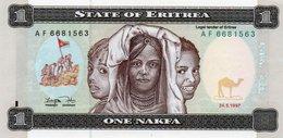 ERITREA 1 NAFKA 1997 P-1 UNC - Eritrea