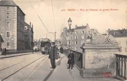 21-DIJON- PONT DE L'HÔPITAL , LES GRANDS MOULINS - Dijon