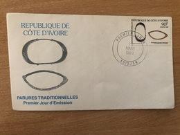 Côte D'Ivoire Ivory Coast Elfenbeinküste 1989 Mi. 989 FDC Parures Traditionnelles Schmuck Bijoux Jewels - Côte D'Ivoire (1960-...)