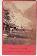 Glacier Supérieur à Grindelwald - Gletscher - Obwald -Animée - Suisse (~10 X 6 Cm) - Oud (voor 1900)