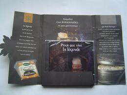 PUBLICITE CD ROM 2002 : ROQUEFORT SOCIETE - CAVE BARAGNAUDES ( 12 ) - Autres