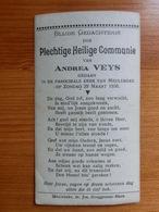 Communie Veys Andréa Meulebeke 1936 - Bruggeman Maes - Andachtsbilder