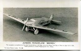"""SCIENCE MUSEUM 100 - JUNKERS MONOPLANE """"BREMEN"""" - 1919-1938: Between Wars"""