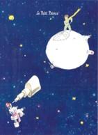 CPM Illustrée St Exupéry Le Petit Prince Le Clown Et La Planète - Cuentos, Fabulas Y Leyendas