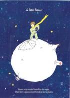 CPM Illustrée St Exupéry Le Petit Prince Il Faut Faire Soigneusement La Toilette De La Planète - Fairy Tales, Popular Stories & Legends