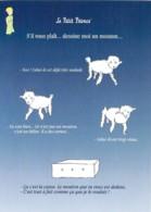 CPM Illustrée St Exupéry Le Petit Prince Le Mouton Que Tu Veux Est Dans La Caisse - Cuentos, Fabulas Y Leyendas